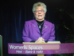 Elaine B. Holtz host of Women's Spaces on show of 9/30/2011