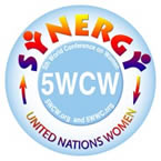 Fifth World Conference on Women logo
