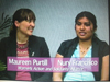 Maureen Purtill and Nury Francisco on Women's Spaces Show filmed 2/24/2012