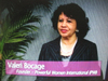 Valerie Bocage, CEO, PWI, on Women's Spaces Show filmed 3/16/2012