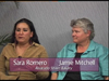 Jamie Mitchell and Sara Romero on Women's Spaces show filmed 8/17/2012