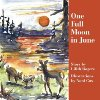 One Full Moon in June by Lilith Rogers book cover