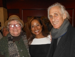 Donzaleigh Abernathy, Elaine B.Holtz and Kenneth E Norton at the Martin Luther King,jr Birthday Celebration in Santa Rosa 1-17-15