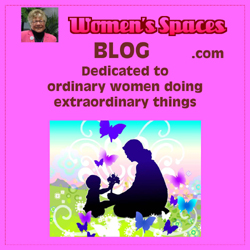 Women's Spaces Blog and Comments logo and link